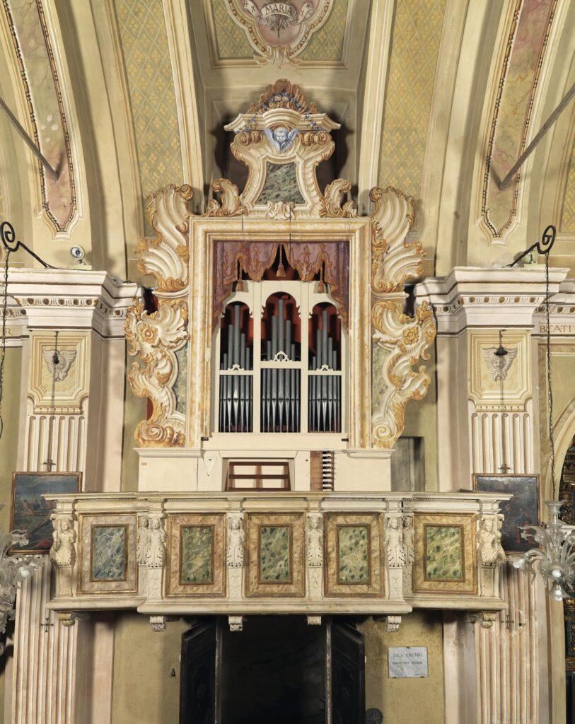 Organo della Chiesa Parrocchiale di Santa Maria Annunciata a Binzago di Agnosine (Bs).