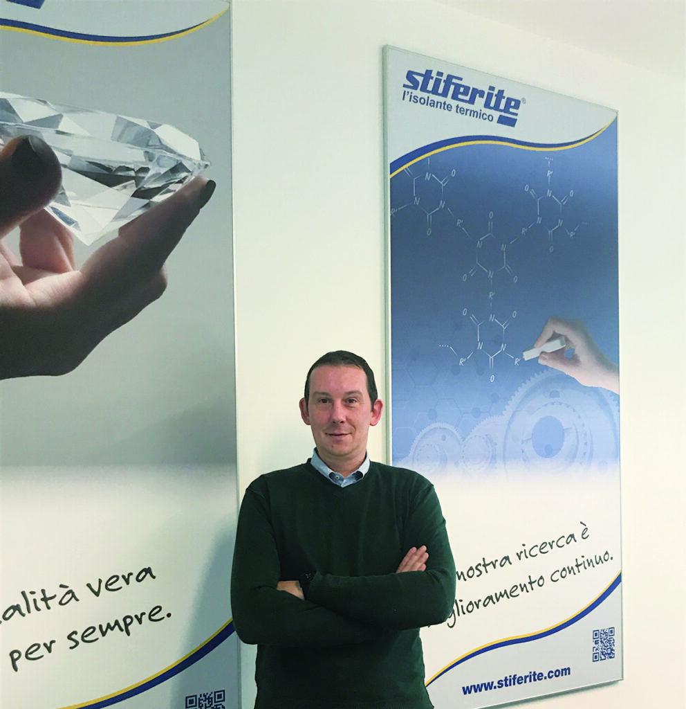 Geom. Cristian Baldan, Commercial and Marketing Department STIFERITE SpA
